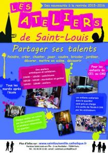 Affiche ateliers st Louis 2014